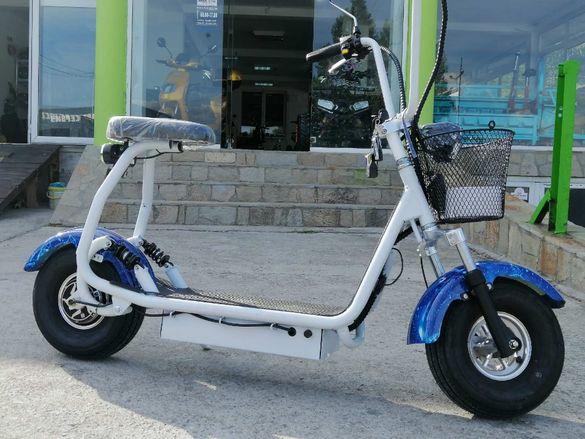 ЕЛЕКТРИЧЕСКИ СКУТЕР Maxmotors Little City Harley 1200W NEW MODEL