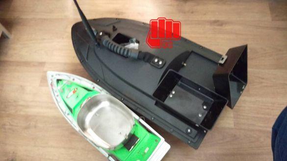 Лодка за захранка, стръв и разпъване на въдици