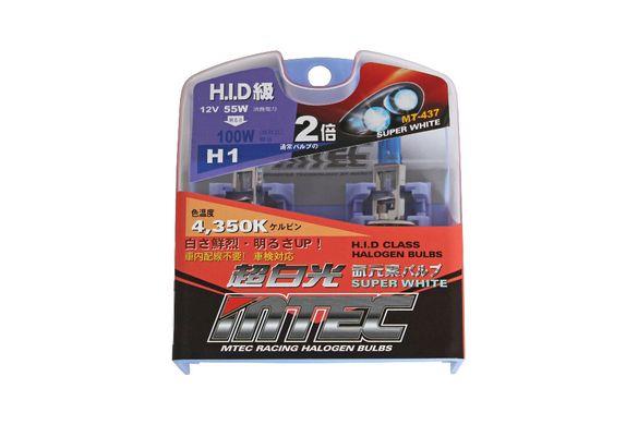 H1 H3 Оригинални Японски Автомобилни Крушки MTEC HID 55W - 100W 4350К