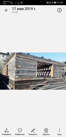 Продам строящийся дом и времянку
