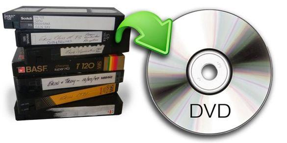Прехвърляне от видео касета на флаш памет / DVD – професионално без ке