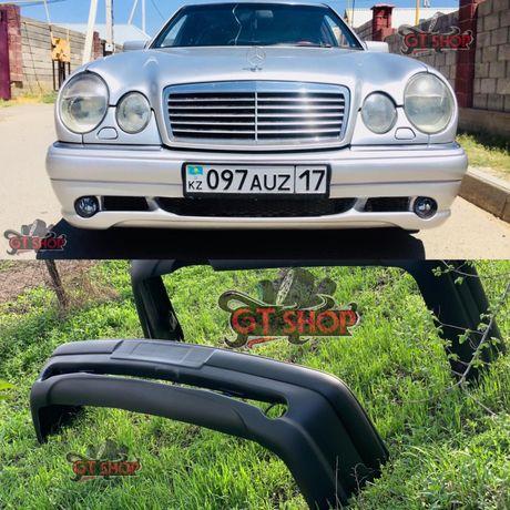 Бампер Mercedes 210