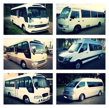 Аренда заказ микроавтобус, автобус. Пассажирские первозки. Зоны отдыха