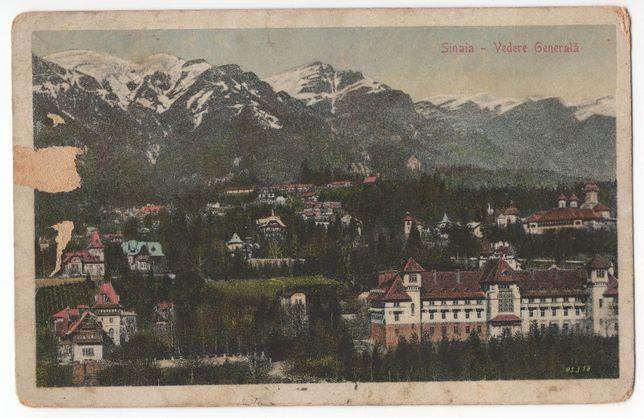 Carte poștală Sinaia 1927