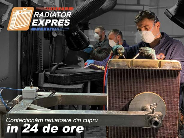 Producem radiatoare din cupru sau aluminiu dupa schita sau model