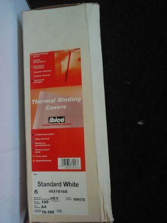 Coperti pentru legare termică GBC, 10 mm, 100 buc./set