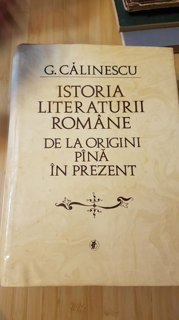 Istoria literaturii romane