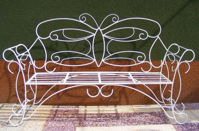 Banca fier - model Fluturas