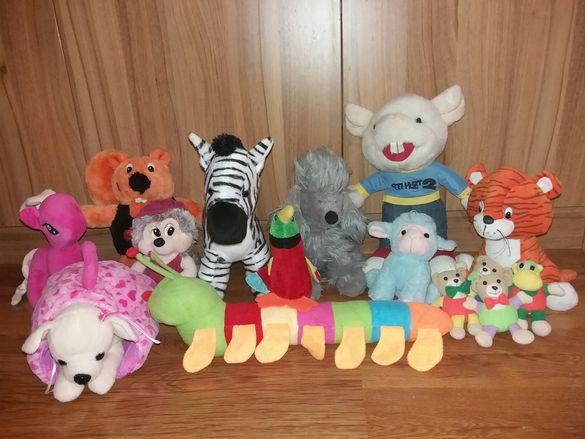 Лот плюшени играчки - различни размери