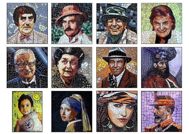 Portrete din Mozaic