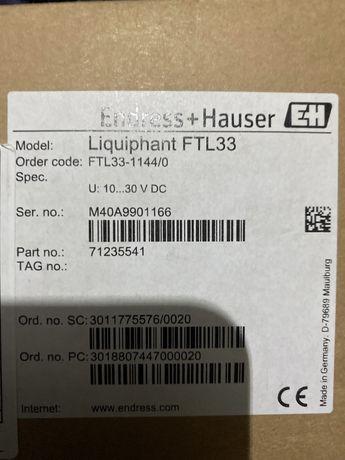 Senzor nivel endress hausser FTL33