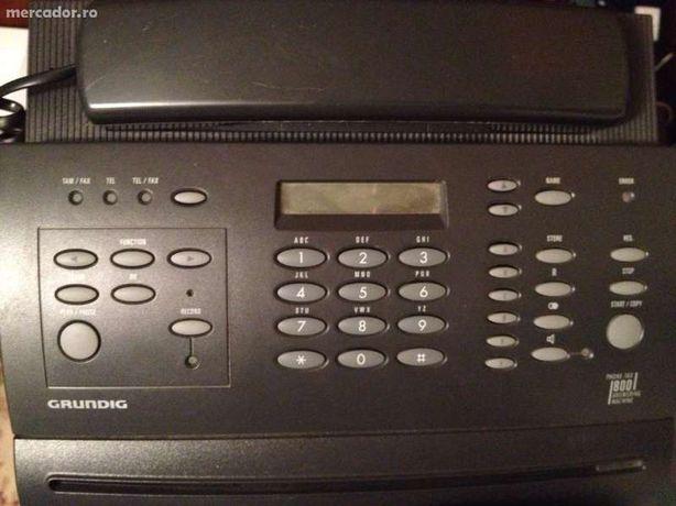 Telefon fax grundig 800