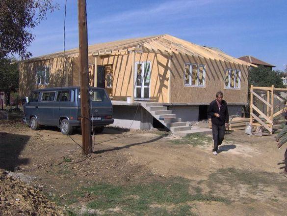 Строителство на дървени сглобяеми къщи от 180лева м2