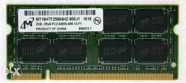 Memorie RAM 2Gb DDR2 Laptop 800MHZ PC2-6400 Notebook SODIMM