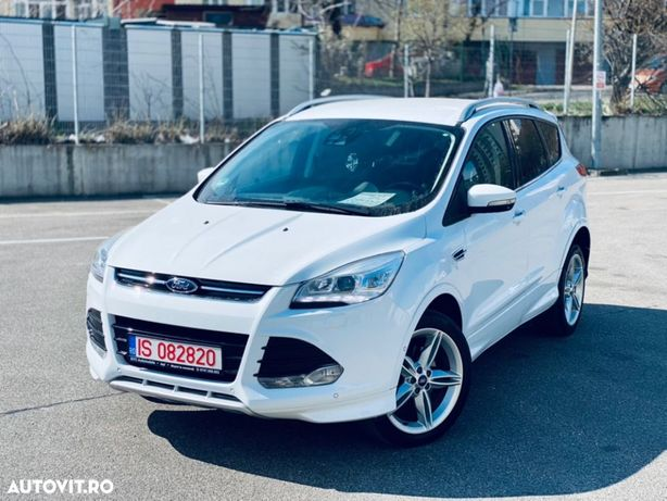 Ford Kuga Individual; 7 Lumini Ambiental; Inteligent 4WD; Alb *Posibilitate rate