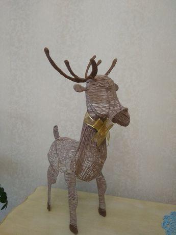 Новогодний Сказочный олень