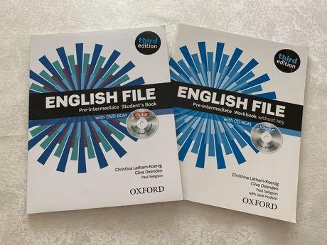 Продам учебник по английскому- Pre-Intermediate