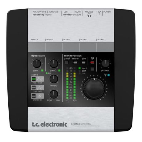Звуковая карта TC Electronic под Mac