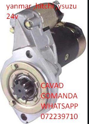 Electromotor 24V, Yanmar, Hitachi, Isuzu,TAKEUCHI TB175,Doosan DH80