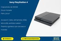 Consola Sony PlayStation 4 500GB - BSG Amanet & Exchange