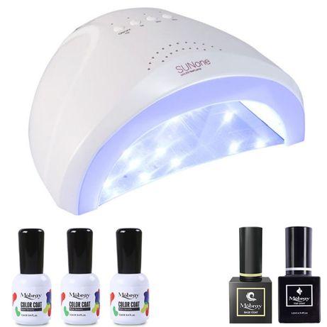 "Комплект за маникюр с 48W UV/LED лампа ""Sun One"""