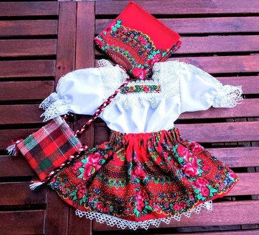 Costum popular fete complet de Maramures. Cod:048