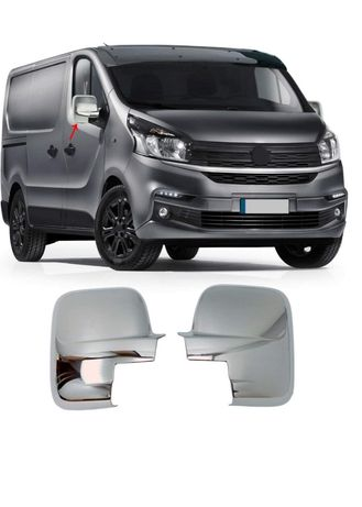 Capace oglinzi plastic compatibil Opel Vivaro/ Renault Trafic 2010->