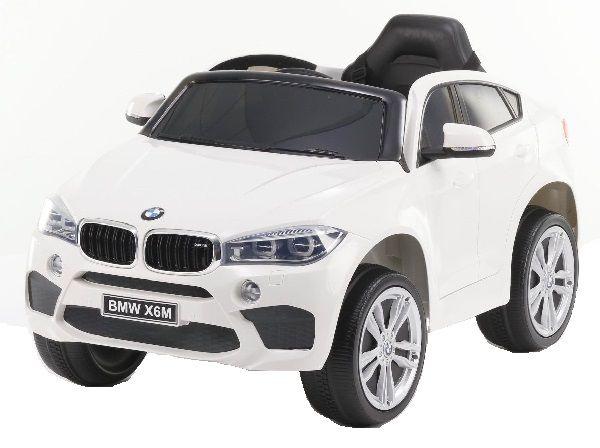 Masinuta electrica Kinderauto BMW X6M 2x35W STANDARD #Alb