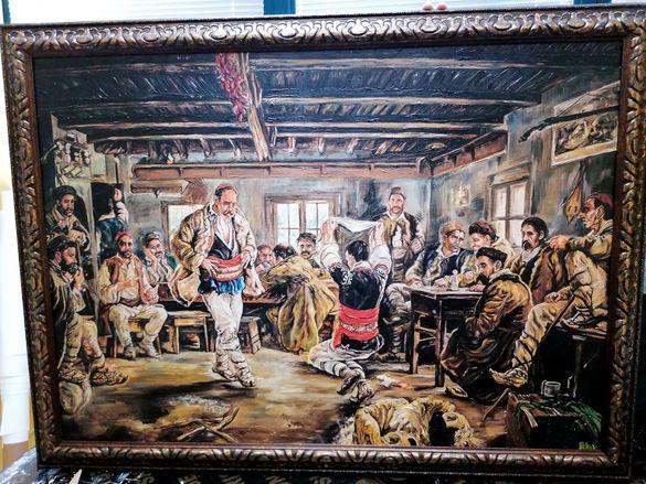 Картина Репродукция на Мърквичка - Ръченица Ръчен релеф