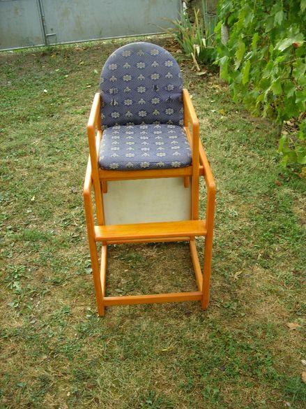 Комбинирано детско столче за хранене