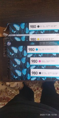 Продам картриджи HP 980