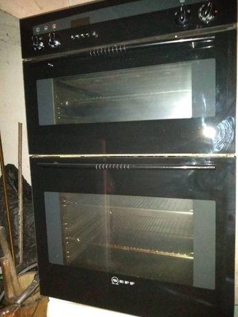 Готварска печка обикновена, конвекторна фурна и стъклокерамичен плот