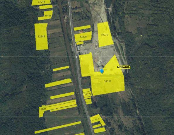 Vând teren extravilan zona Mehadia