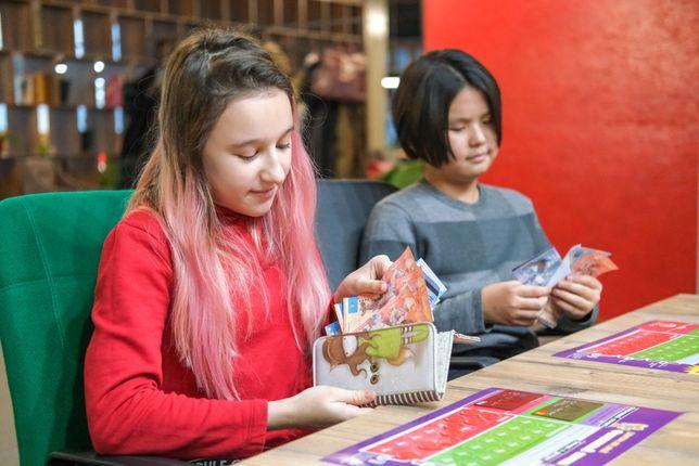 Курсы финансовой грамотности для детей с 9 лет в Астане. Жмите
