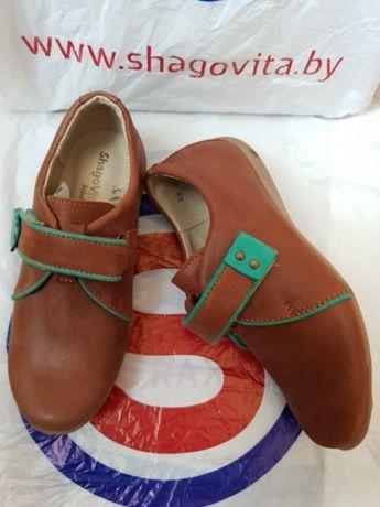 НОВАЯ кожаная обувь Shagovita