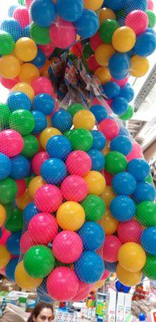 Saci (2 in set) cu 50 de bile colorate din plastic. Produs nou! Sigil