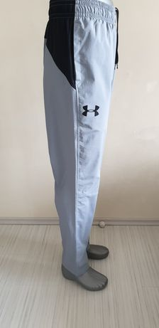 Under Armour Stretch Woven Pant Silver Mens Size XL ОРИГИНАЛ! Мъжко До