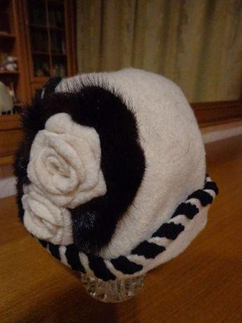 продам женский головной убор из фетра