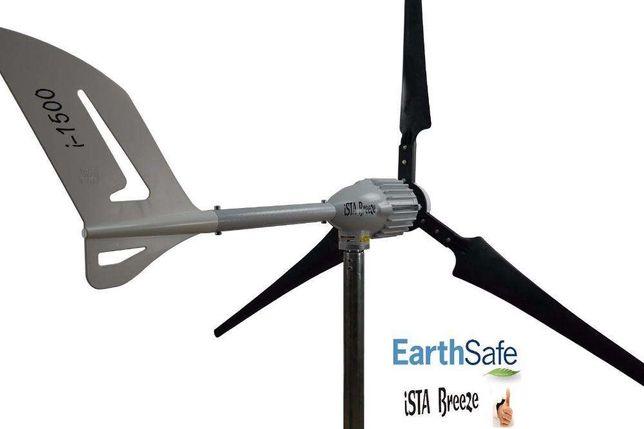 Turbina eoliana - generator eolian 1500W / 48V cu regulator inclus.