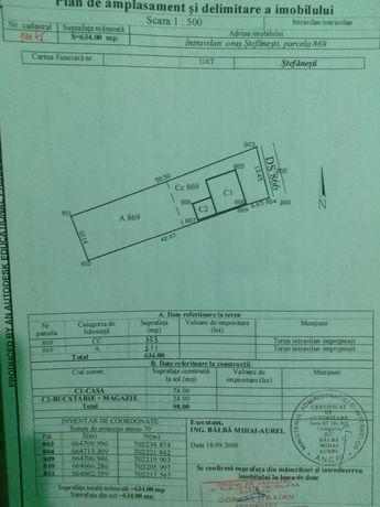 Vand casa cu 600 mp teren
