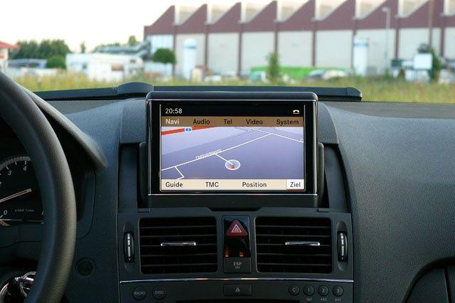 DVD harti navigatie Mercedes C Class W204 GLK navi COMAND APS NTG4