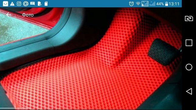 3D Автоковрики Ева