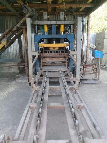 Завод по изготовлению пескоблоков, поребрика