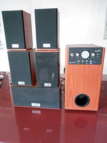 Sistem audio genius 5+1