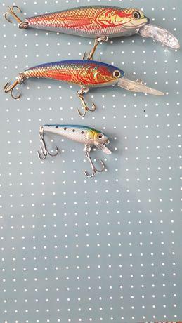 Воблери за риболов нови са не са използвани..