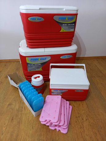 Set 4 cutii frigorifice + pastile