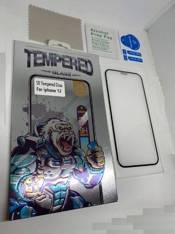 6D Стъклен протектор за iPhone 12 Mini / iPhone 12 / iPhone 12 Pro MAX
