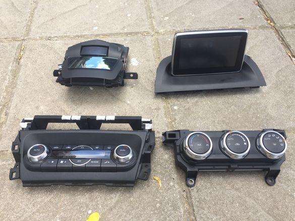 Панел за климатроник,навигация/дисплей за Мазда 3,ЦХ-3 Mazda 3,CX-3