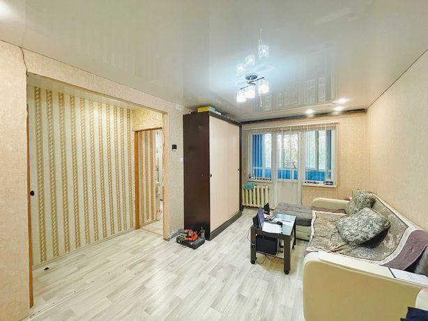 Продаётся 1 комнатная квартира, по ул. Абая. Помощь в ипотеке
