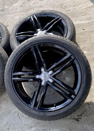 """Jante Audi A6 19"""" + anvelope vara dot 2018 Dunlop sport maxx"""